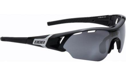 BBB – Løbe- og cykelbrille Summit – 3 sæt linser – Sort