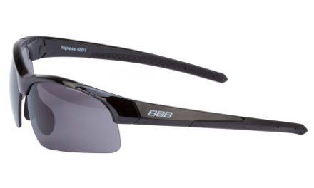 BBB – Løbel- og cykelbrille Impress Lady – 3 sæt linser – Sort