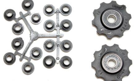 BBB pulleyhjul 10 tands med ABEC-3 lukkede lejer – Rollerboys 2 stk