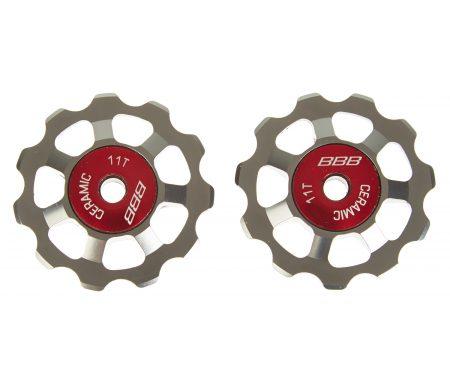 BBB pulleyhjul 11 tands med keramiske lejer – Alu boys 2 stk