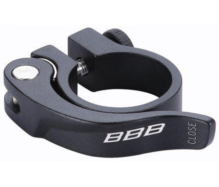 BBB Smoothlever – Sadelrørs klampe QR ø31,8mm – Sort