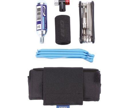BBB – Toolpack – Sadeltaske m/Co2 pumpe, dækjern, minitool