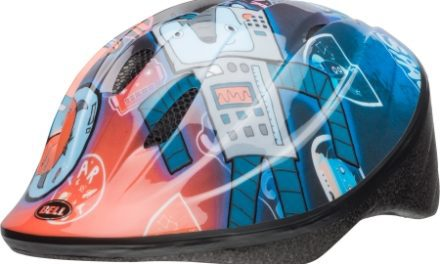 Bell Bellino – Cykelhjelm – Blå Robot
