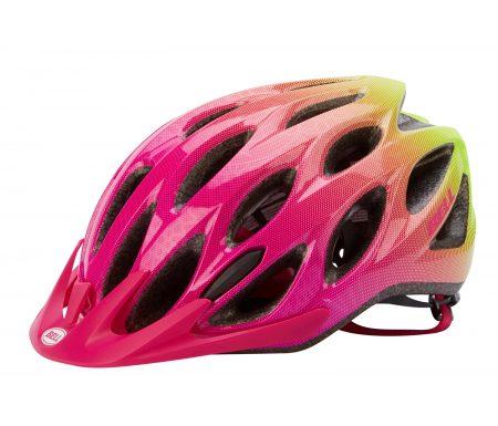 Bell Charger – Cykelhjelm – Str. 50-57 cm – Pink/Neongul