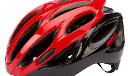 Bell Draft cykelhjelm  – Str. 54-61 cm – Rød/sort
