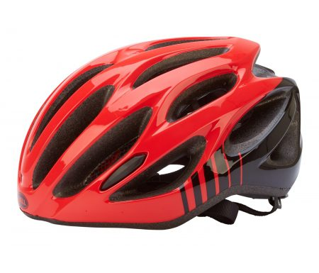 Bell Draft – Cykelhjelm – Str. 54-61 cm – Rød/Sort
