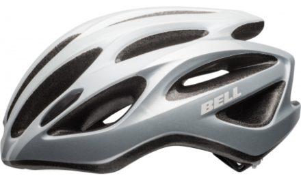 Bell Draft – Cykelhjelm  – Str. 54-61 cm – Sølv/hvid