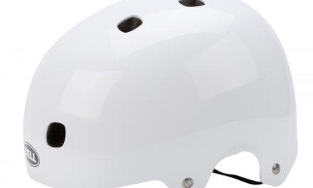 Bell Segment cykel- og skaterhjelm – Blank hvid