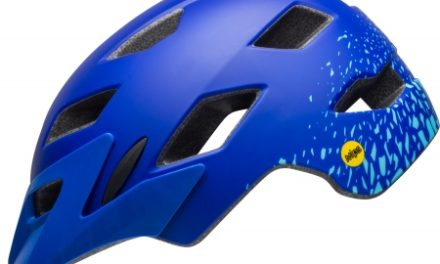 Bell Sidetrack Junior Mips – Cykelhjelm – Str. 50-57 cm – Pacific Blå