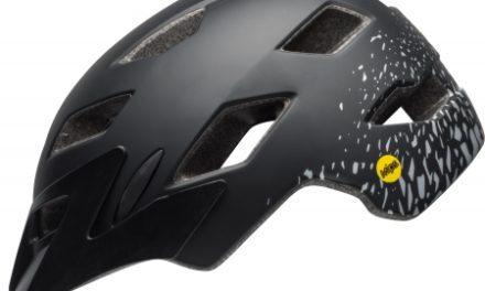 Bell Sidetrack Junior Mips – Cykelhjelm – Str. 50-57 cm – Sort/Sølv
