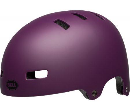 Bell Span – Cykel- og skaterhjelm – Mat lilla