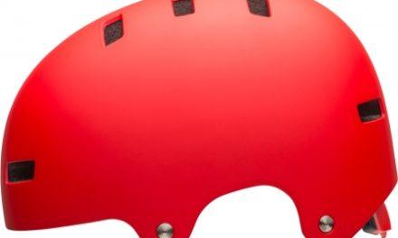 Bell Span – Cykel- og skaterhjelm – Mat rød