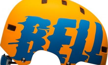Bell Span – Cykel- og skaterhjelm – Orange med motiv