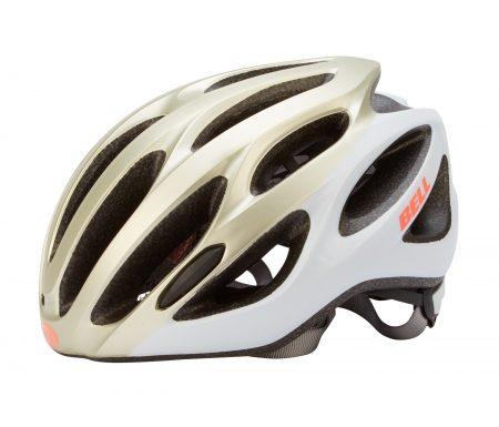 Bell – Tempo – Cykelhjelm – Str. 50-57 cm – Mat Champagne/Sølv