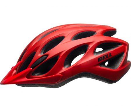 Bell Tracker – Cykelhjelm – Str. 54-61 cm – Mat Rød
