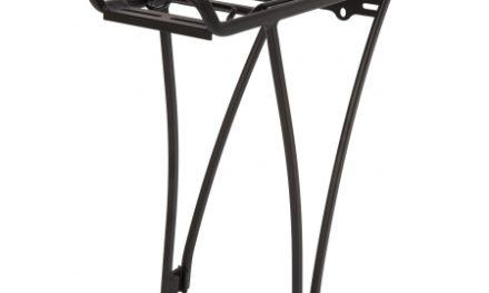 Bike Attitude – Bagagebærer – 26/700c – Alu matsort med klap – Rustfrit tilbehør