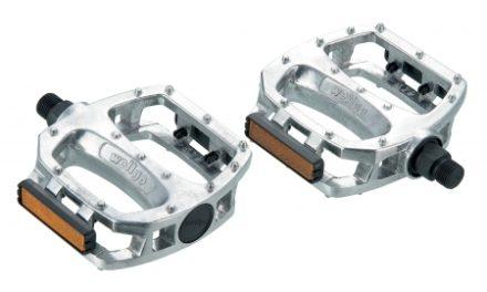 """Bike Attitude – BMX pedal – 1/2"""" – LU-987 sølv"""