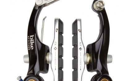 Bike Attitude bremseklo – V-bremse – mini – sort – 85 mm