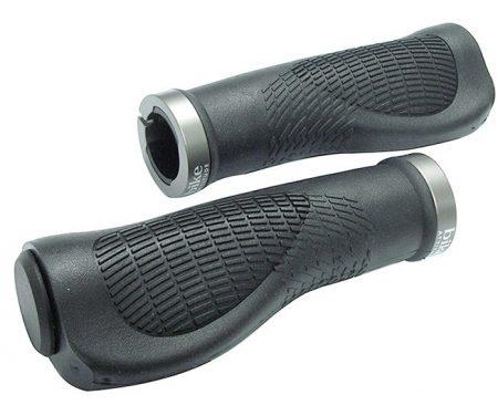 Bike Attitude Håndtag – Ergonomiske – Sort – 125 mm med gel – inkl. skrue