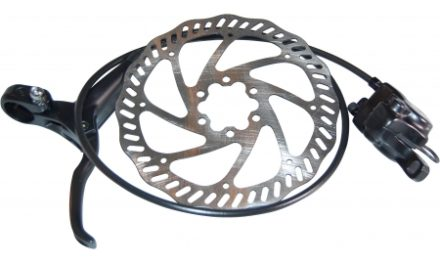 Bike Attitude – Skivebremse for – sort – hydraulisk med greb/kabel/kaliber/skive