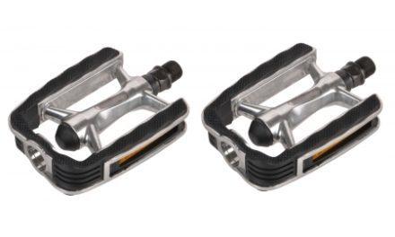 "Bike Attitude – Sport pedal – 9/16"" – Aluminium sølv/sort"