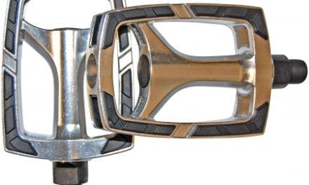 "Bike Attitude – Sport pedal – 9/16"" – aluminium – sølv"