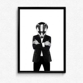 Swart Blues Badger – A3 fra Swart
