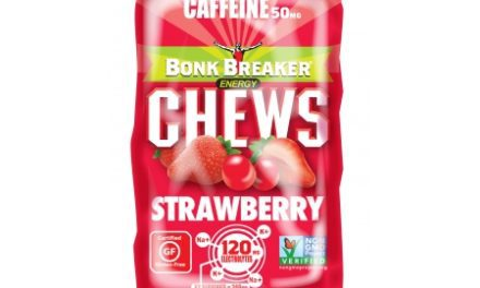 BONK BREAKER  Chews – Energi vingummi – Strawberry – 100 mg koffein – 50 gram