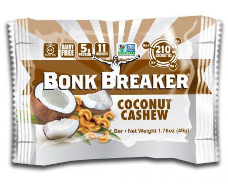 BONK BREAKER  – Energibar – Coconut Cashew – 49 gram