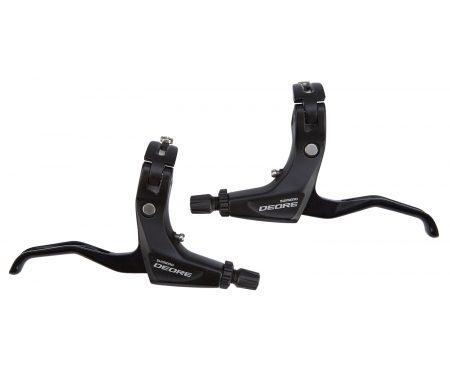 Bremsegreb sæt Shimano Deore MTB sort til V-bremser 2 finger type