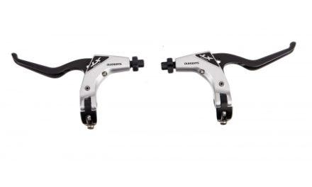 Bremsegreb sæt Shimano XT Trekking Sort bremseklinge til V-bremser