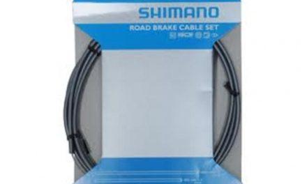 Bremsekabel sæt PTFE grå til Racer/Sportscykler