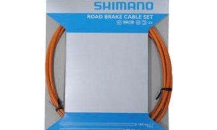 Bremsekabel sæt PTFE orange til Racer/Sportscykler