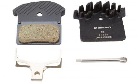 Bremseklods Shimano Disk model J02A Resin til XTR/XT/SLX BR-M9020, BR-M9000, BR-M8000