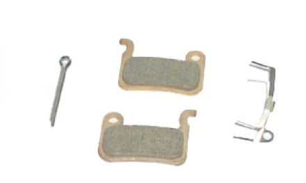 Bremseklods Shimano XTR/XT Disk i sæt Model M06Ti Metal