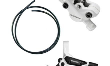Bremsesæt Shimano M396 Hvid Hydraulisk komplet til bag