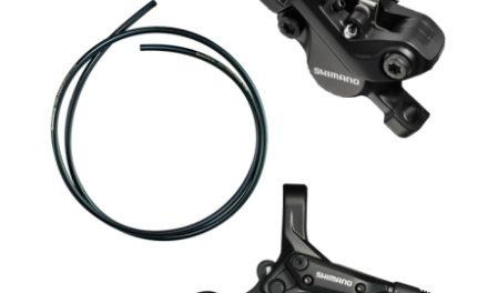 Bremsesæt Shimano M396 Sort Hydraulisk komplet til front