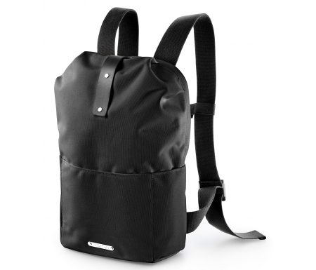 Brooks – Dalston Knap Sack med lynlås – Sort Small/12 liter