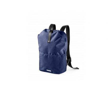Brooks – Dalston Knapsack med lynlås – Blå – Small/12 liter