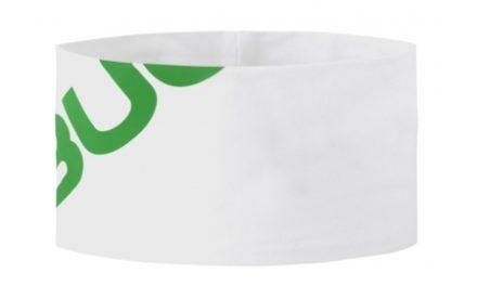 Bula Across – Pandebånd – Hvid – Onesize