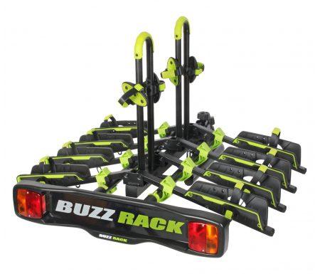 Buzzrack Buzzwing 4 – Cykelholder til 4 cykler – Sammenklappelig