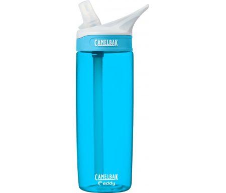CamelBak Eddy 0,6L – Drikkeflaske – Lys blå/Transparent