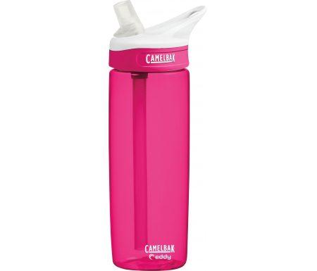 CamelBak Eddy 0,6L – Drikkeflaske – Pink/Transparent