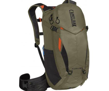 Camelbak K.U.D.U. – Rygsæk 20L med rygskjold – Str. M/L – Oliven/Orange
