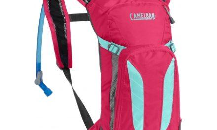 Camelbak Mini M.U.L.E. – Rygsæk 3L med 1,5 L vandreservior – Pink/Turkis-blå