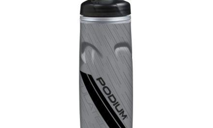 Camelbak Podium Chill MTB – Drikkeflaske 0,62 liter – 100% BPA fri – Grå/Sort