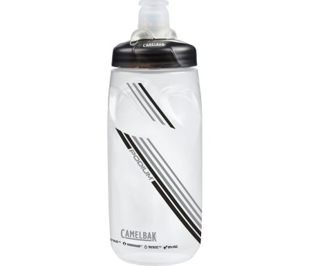 Camelbak Podium – Drikkeflaske 0,62 liter – 100% BPA fri – Clear Carbon
