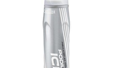 Camelbak Podium Ice – Drikkeflaske 0,62 liter – 100% BPA fri – Sølv/Hvid