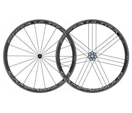 Campagnolo Bora Ultra – Hjulsæt 35 Dark – Campagnolo Body – Inklusiv brake pads BR-BO500