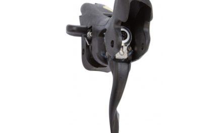 Campagnolo Carbon Veloce/Centaur – Skiftegrebs body 2×10 gear – Venstre side – uden bremse